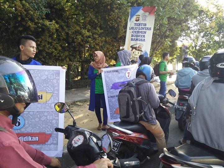 Aksi Damai di Tugu Digulis oleh REMAJA GENRE