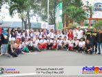 30 Finalis Duta Mahasiswa GenRe Berfoto Bersama di Car Free Day Pontianak