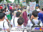 Finalis Dumas 2015 memberikan sosialisasi Triad KRR+
