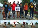 Komunitas Skateboard Remaja Pontianak Kalimantan Barat