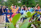Peringatan Hari Keluarga Nasional di Taman Digulis Pontianak