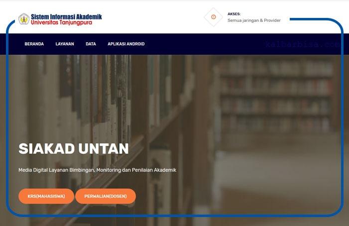 Layanan Sistem Informasi Akademik (SIAKAD)