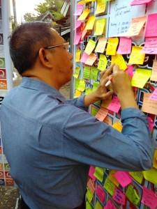 Walikota Pontianak (Sutarmiji) menuliskan pesan