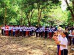 Peserta tetap bersemangat dalam Kemah Besar Parade Cinta Nusantara